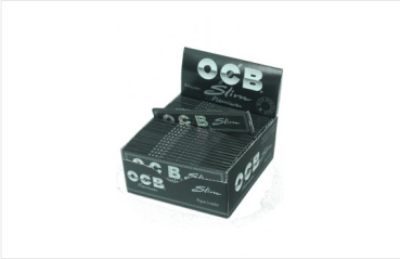 OCB King Size Black premium slim, 50er Box