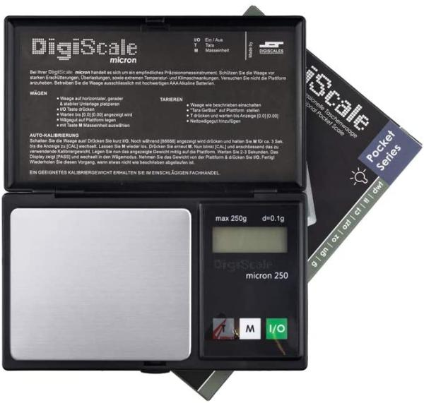 DigiScale  250g/0,01g Waage